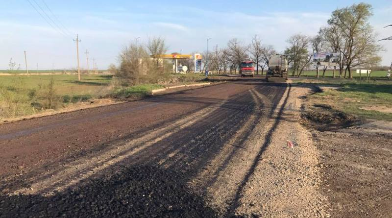 Ремонт дороги Спасское-Вилково выполнен уже практически на четверть