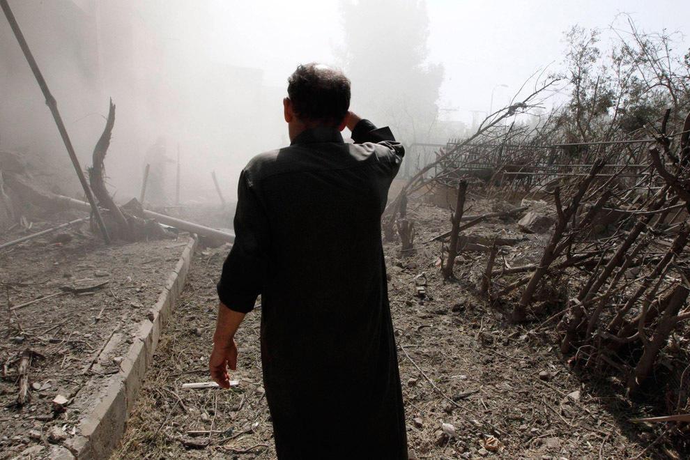 gazsiria06 В Сирии от газовой атаки погибло более 100 человек (фото, видео +18)
