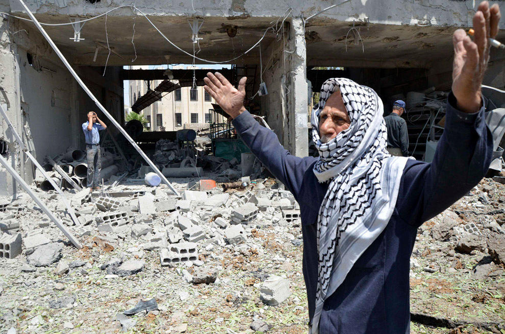 gazsiria09 В Сирии от газовой атаки погибло более 100 человек (фото, видео +18)