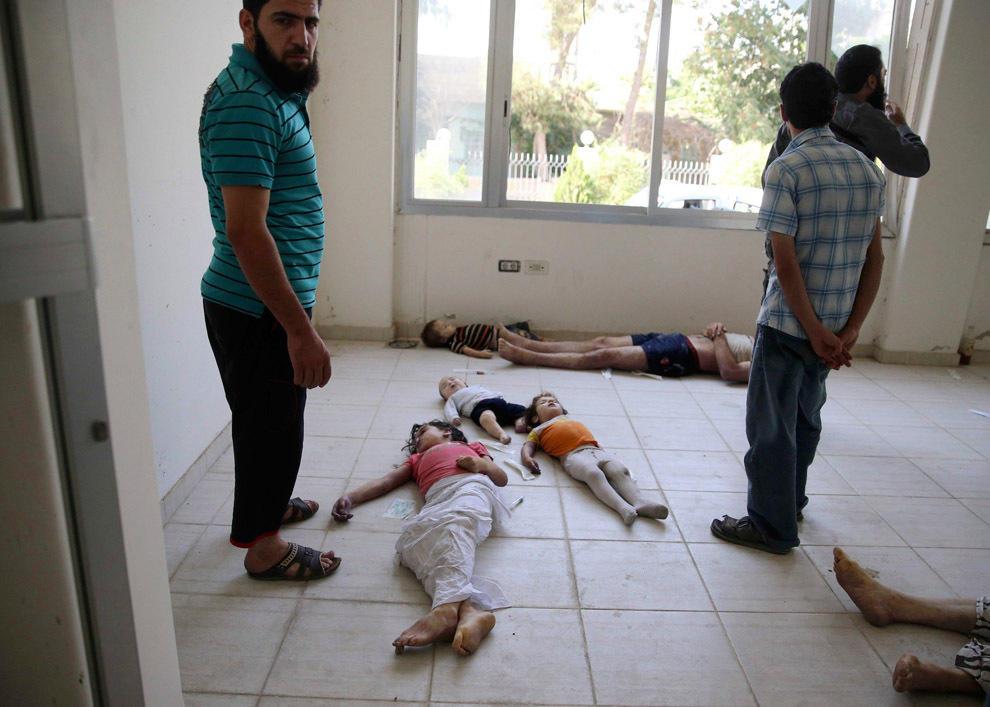 gazsiria11 В Сирии от газовой атаки погибло более 100 человек (фото, видео +18)