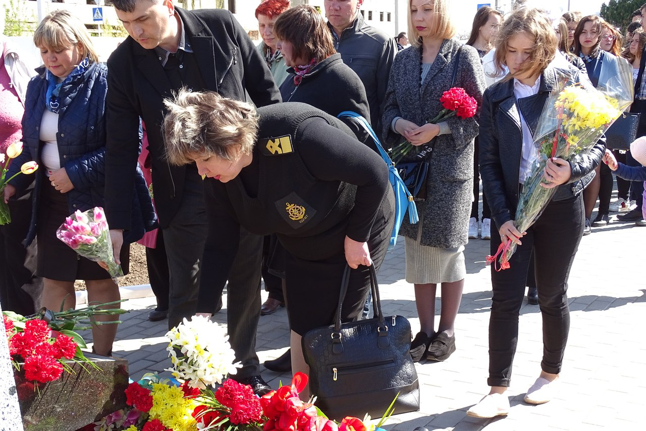 lXa1hJBxAqs 31-я годовщина аварии на Чернобыльской АЭС: в Измаиле прошел памятный митинг