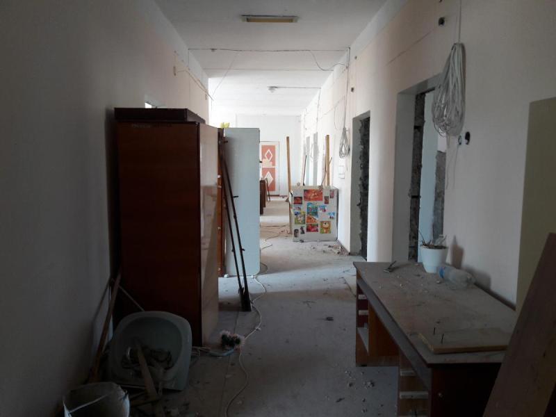 Аккерман: в межрайонной многопрофильной больнице стартовал капремонт детского терапевтического отделения