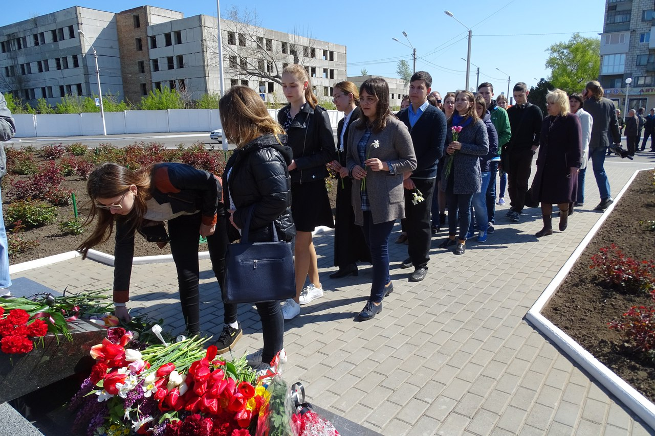 n19gSbfGeKw 31-я годовщина аварии на Чернобыльской АЭС: в Измаиле прошел памятный митинг