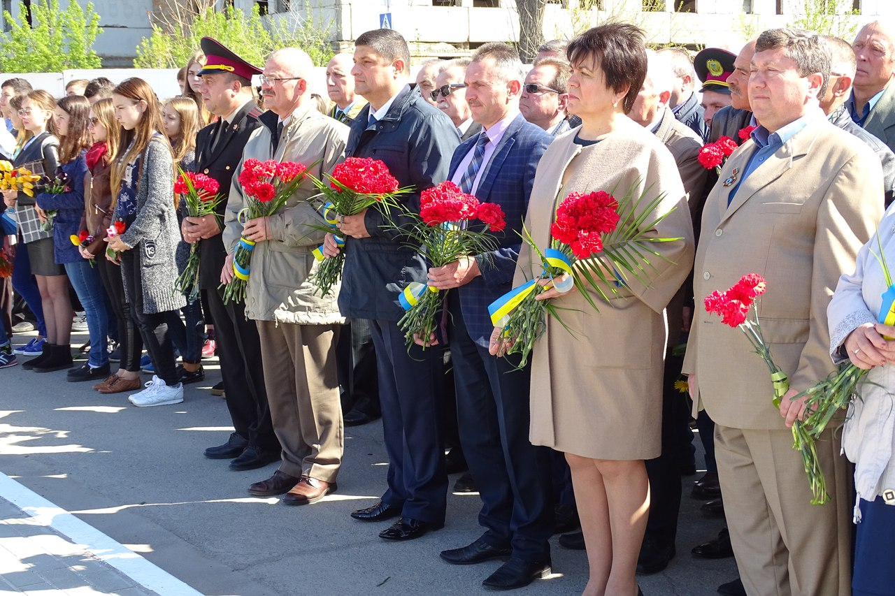 31-я годовщина аварии на Чернобыльской АЭС: в Измаиле прошел памятный митинг