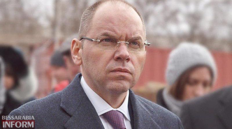 глава Одесской ОГА Максим Степанов