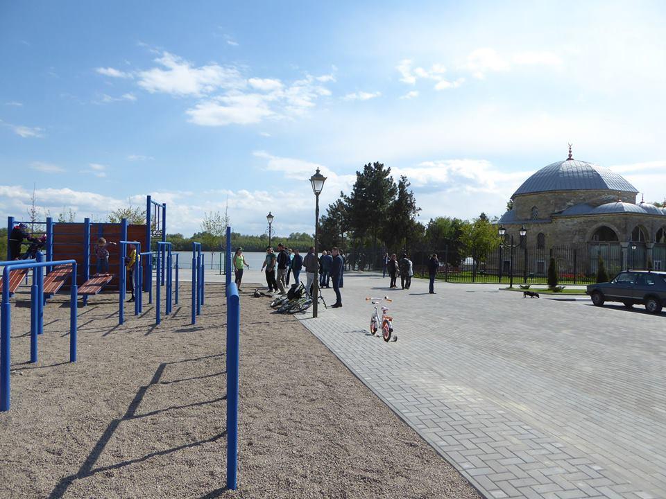 soprtivnaya-ploshhadka В Измаиле появилась первая площадка для Воркаута