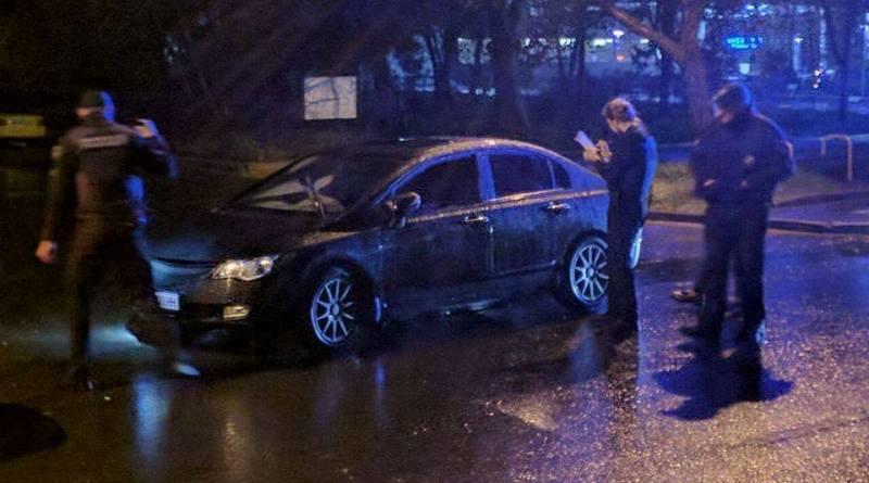 В Одессе на пьяном вождении поймали военного прокурора