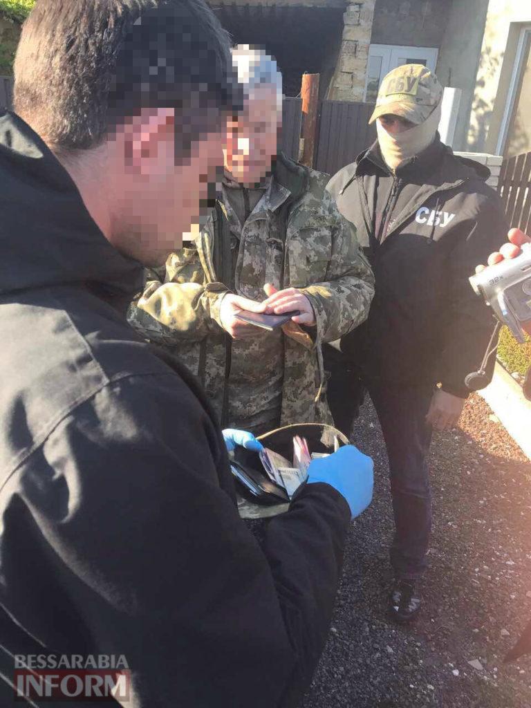 zaderzhanie-voenkoma-768x1024 В Килии СБУ задержала за взятку военного комиссара