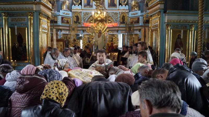 18341715_1347987705279877_1062373152597402731_n Крестный ход в Килии: священнослужители и прихожане обошли святые места города