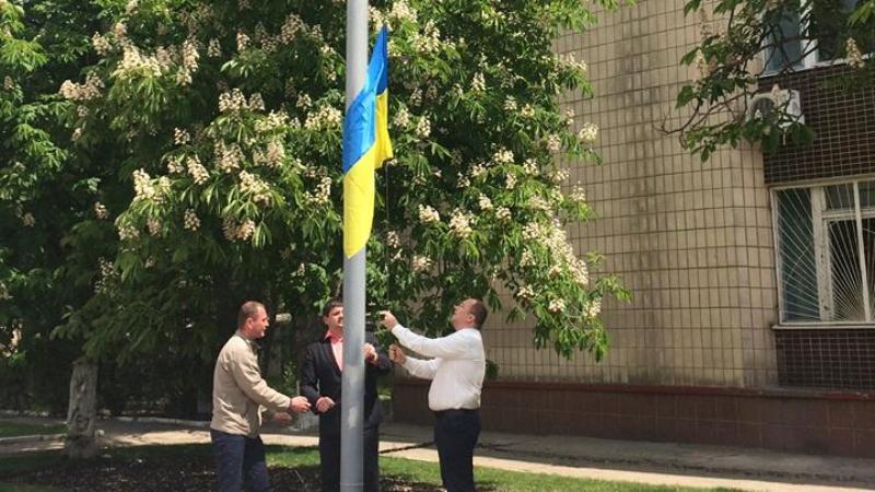 18425301_1780244225622904_8970685224648975224_n В центре Килии торжественно подняли флаги Украины и Евросоюза