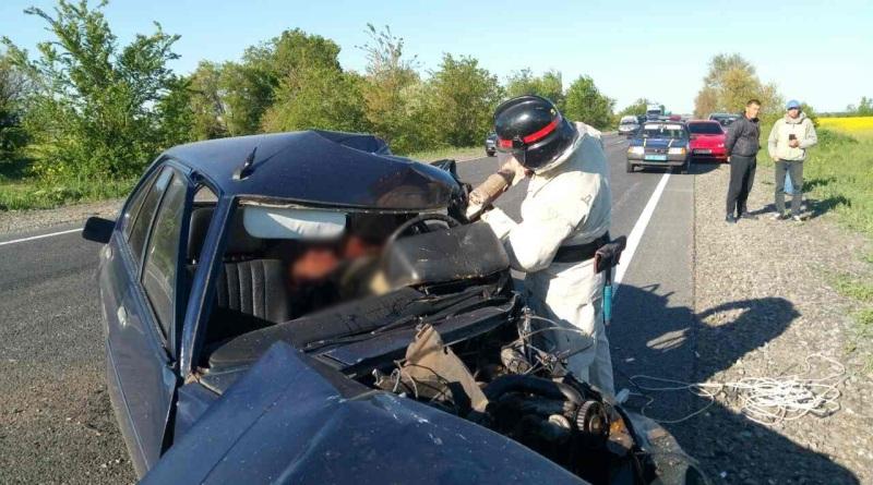 5-kopiya Утром на трассе Одесса-Рени произошло смертельное ДТП