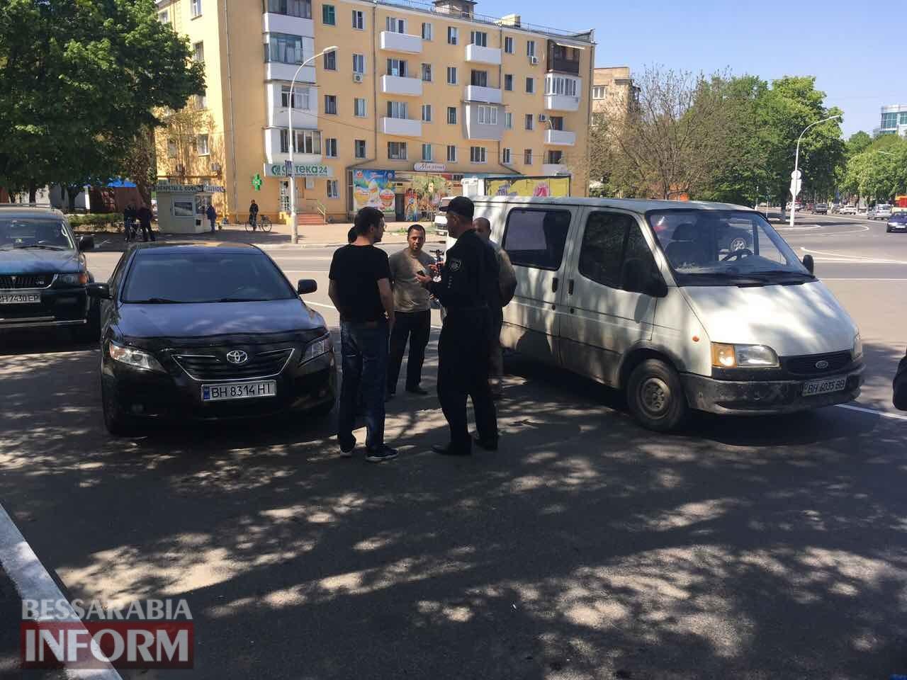 59085e0f43445_DTP-na-ploschadi-Mira-v-Izmaile Измаил: на площади Мира произошло сразу два ДТП, в одно из которых пострадала женщина велосипедист