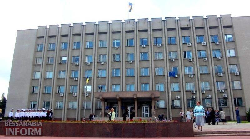 Ко Дню Европы в Измаиле впервые подняли над городом флаг Евросоюза