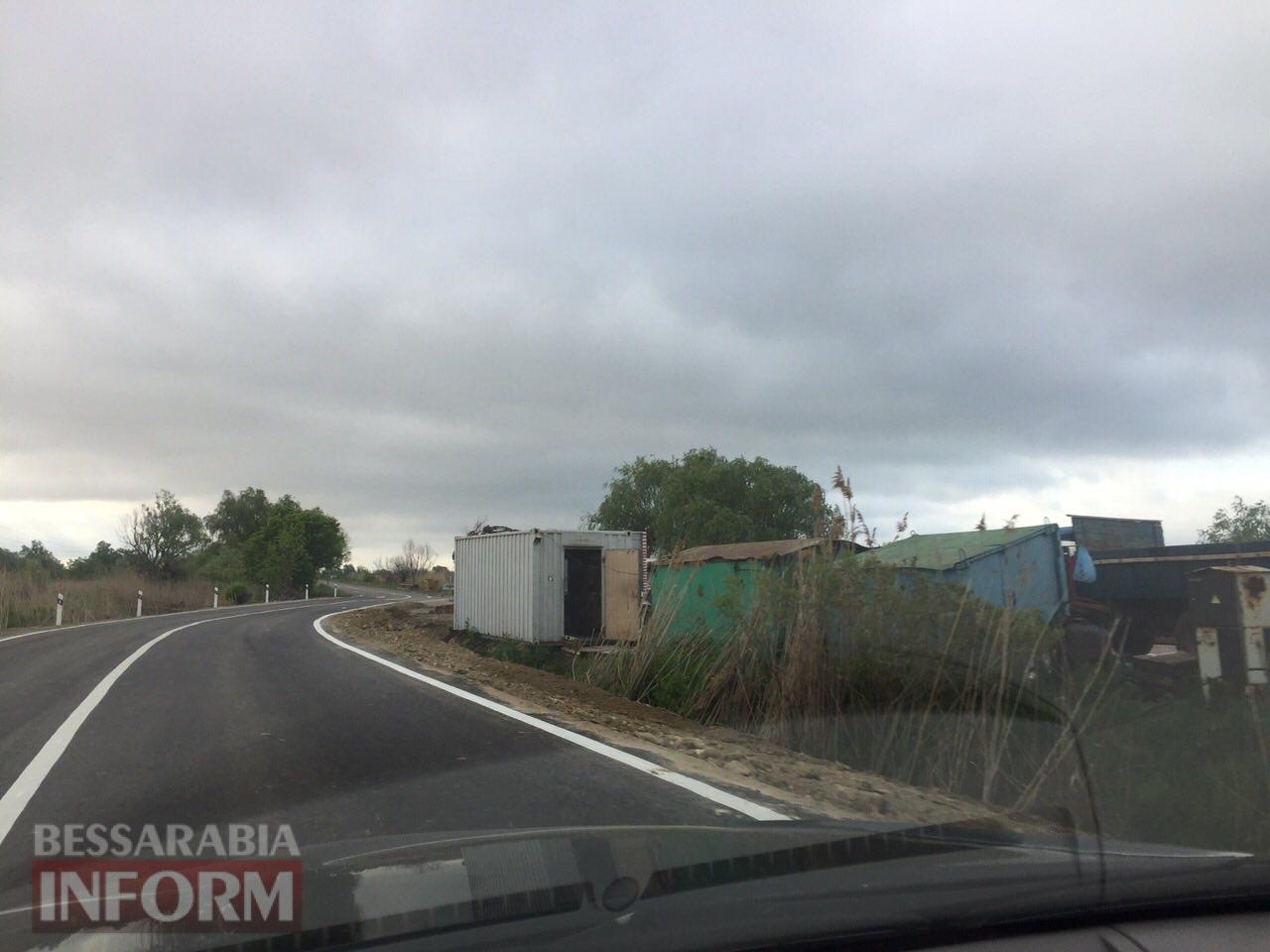 Как на сегодняшний день выглядит объездная дорога возле Паланки