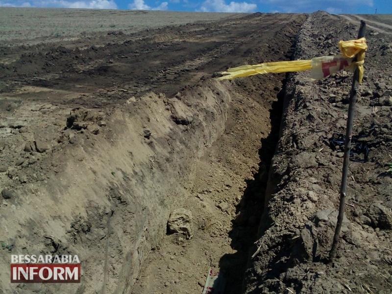 Строительство магистрального газопровода в Измаильском р-не: репортаж с места проведния работ