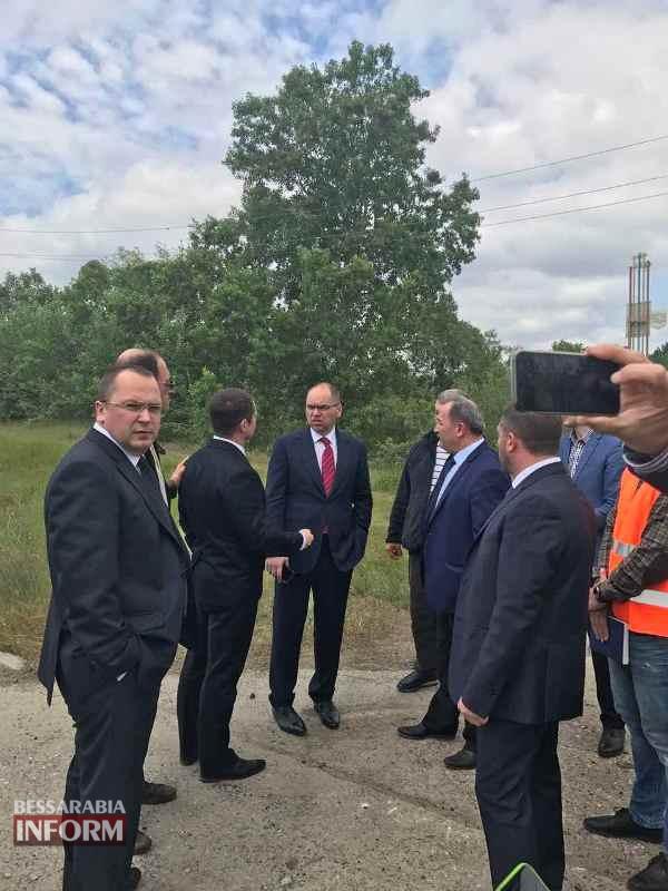 Почти на финише: губернатор проинспектировал готовую на 95% дорогу Спасское-Вилково