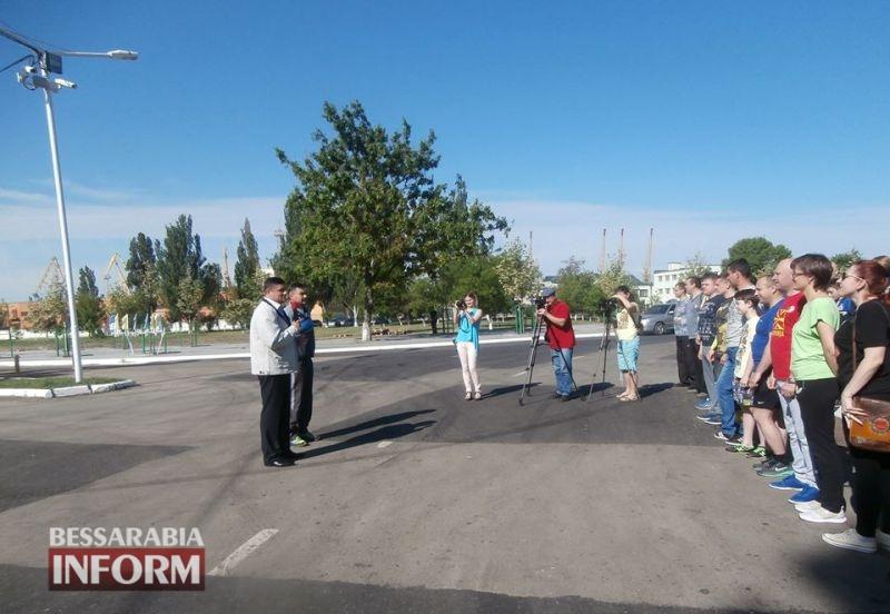 В честь героев: в Измаиле состоялся забег Памяти погибших в зоне АТО пограничников