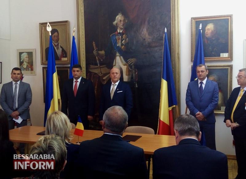 592818e442131_IMG_20170526_120502 Исторический день: сегодня состоялось подписание Соглашения о сотрудничестве между городом Измаил и уездом Тулча