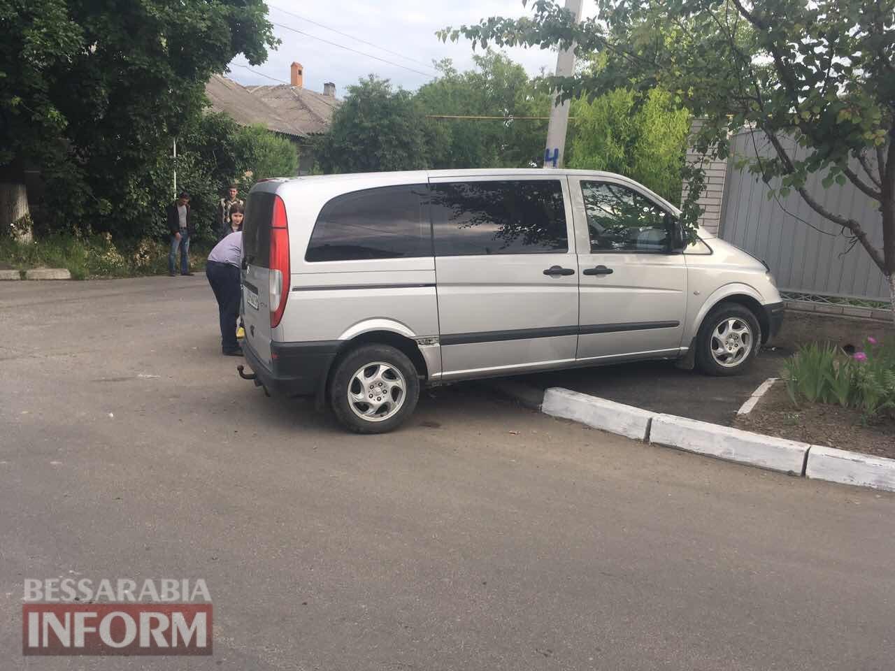 """В Измаиле очередное игнорирование знака """"Уступить дорогу"""" привело к ДТП"""