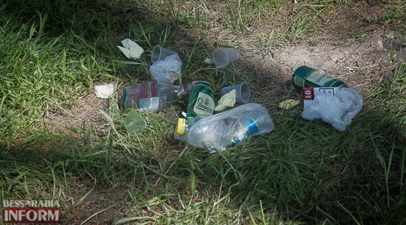 мусор после майовки