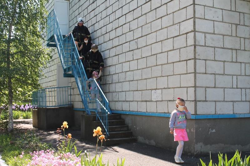 """IMG_4923 Пожар понарошку: в Измаиле в детском саду """"Колокольчик"""" прошла учебная тренировка по эвакуации в случае ЧС"""