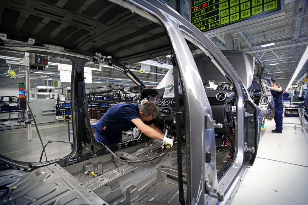 Mercedes-Benz-Kecskemet-Plant-4 Здесь рождаются звезды: репортаж с завода Mercedes-Benz