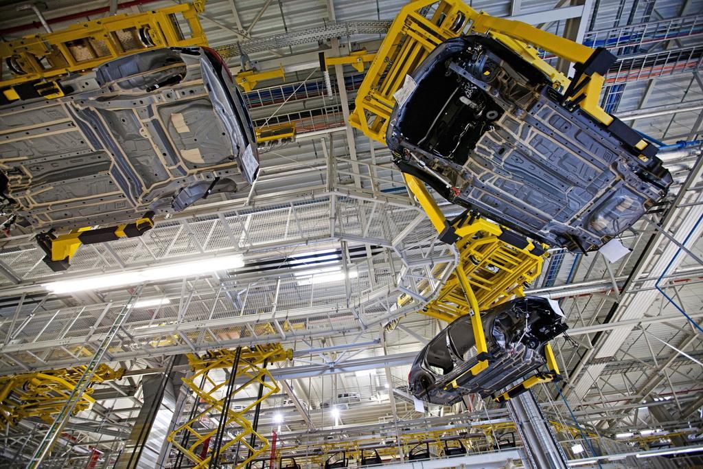 Mercedes-Benz-Kecskemet-Plant-6 Здесь рождаются звезды: репортаж с завода Mercedes-Benz