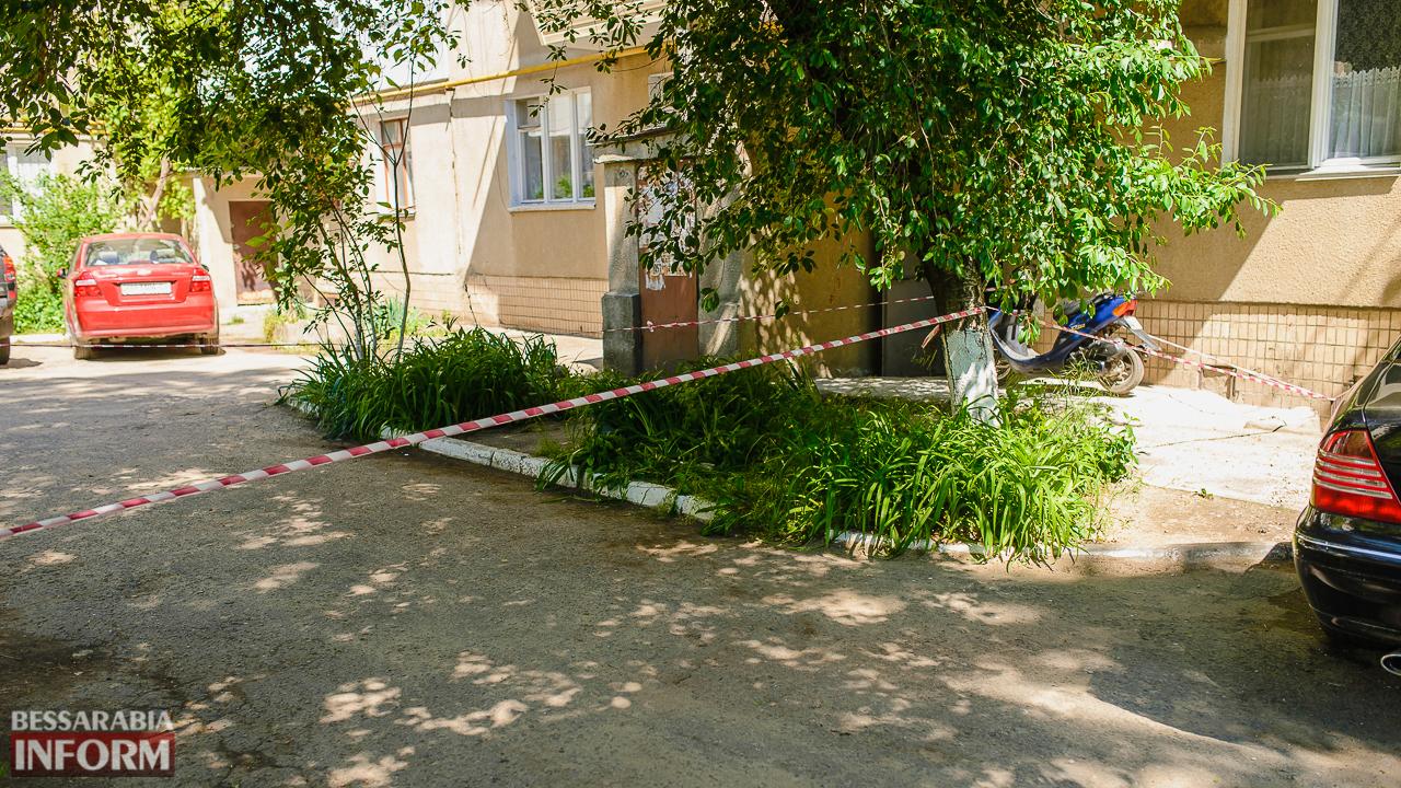 SME_5227 В Измаиле в спальном районе в клумбе с цветами нашли взрывоопасный предмет