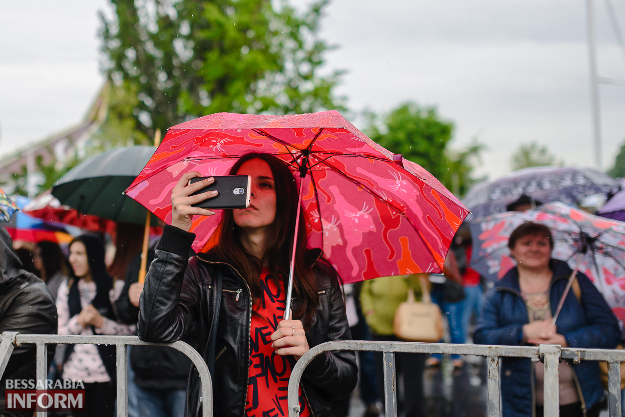 Несмотря на дождь, измаильчане весело отметили ежегодный фестиваль «Дунайская весна»