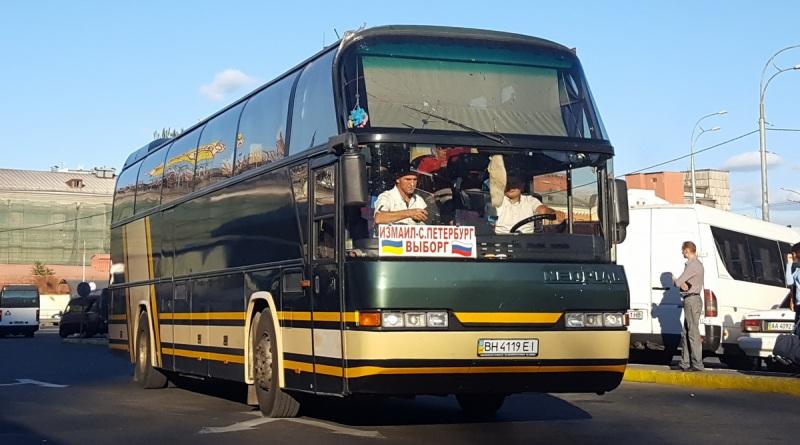 автобус Измаил-Санкт-Петербург