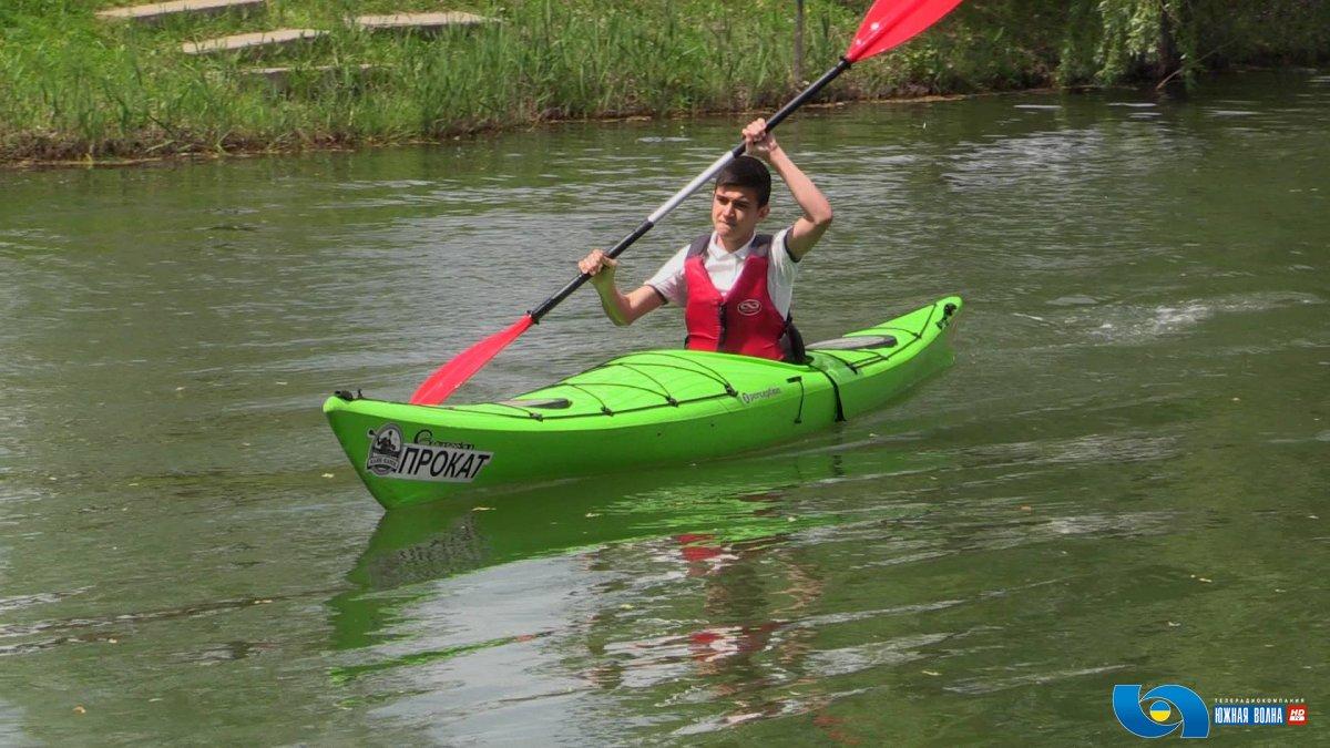 В Измаильском районе состоялся чемпионат по гребному слалому