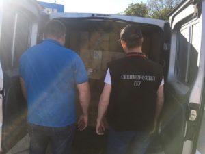 Крупная партия контрабандных сигарет из Приднестровья была изъята на подъезде к Одессе
