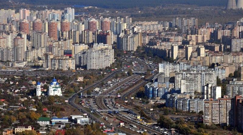 район Троещина в Киеве