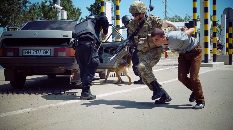 В Бессарабии прошли масштабные международные антитеррористические учения «Крепкая граница-2017»
