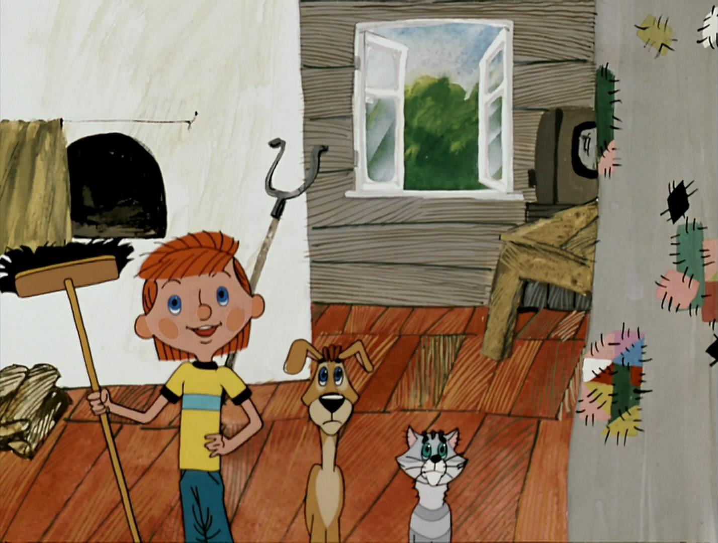 картинки к мультфильму простоквашино