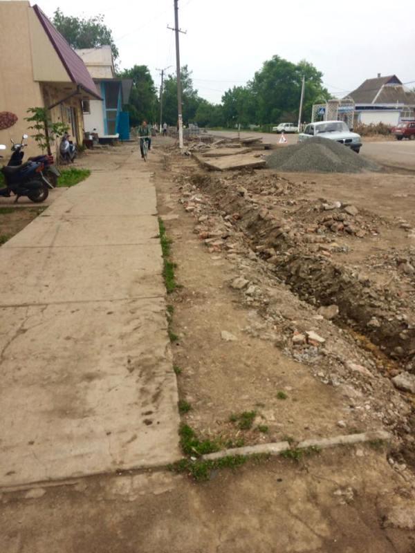 Килийский р-н: в Шевченково стартовала масштабная реконструкция центра села