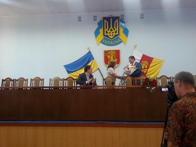 Сегодня состоялось представление нового главы Белгород-Днестровской РГА