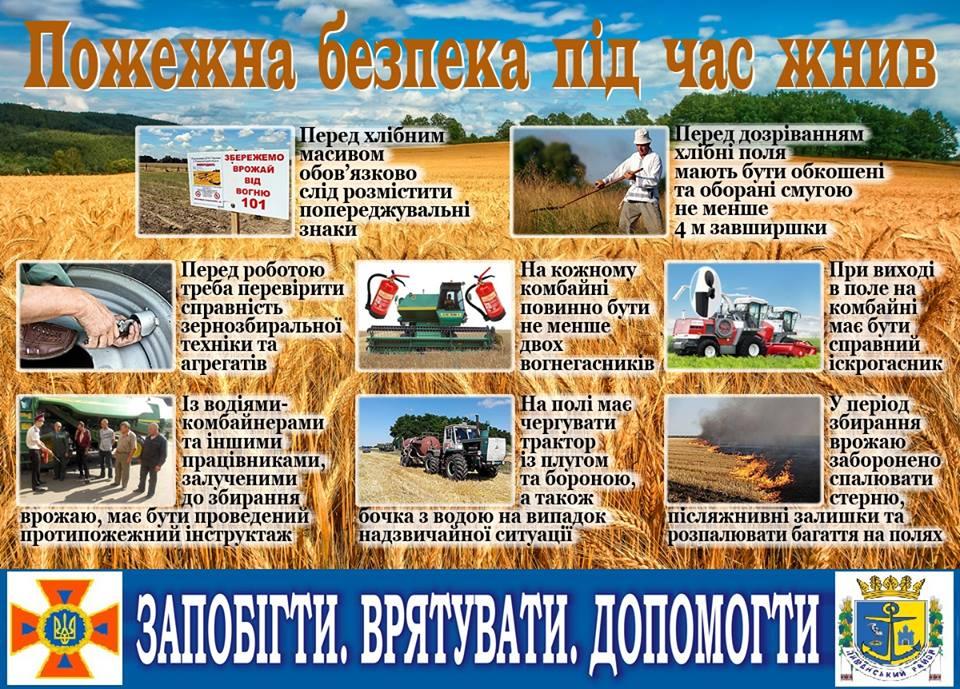 19059164_833285920160668_4334452203203519014_n Чтобы нива дала урожай: ГСЧС напоминает о мерах безопасности на полях