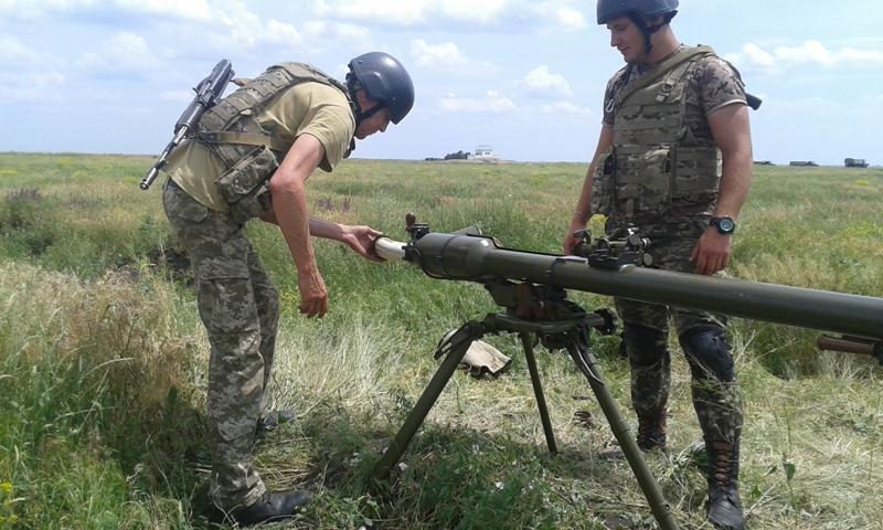 20170613_131624 Пограничные спецназовцы из Измаила провели повторные учения на полигоне «Широкий Лан»