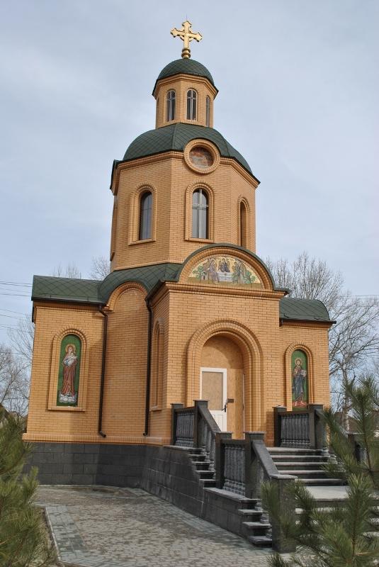 В Вилково откроют и освятят уникальный храм с мозаичными иконами на фасаде
