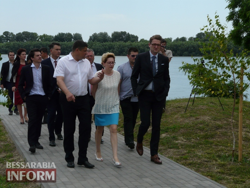 Измаил посетил с визитом Чрезвычайный и Уполномоченный посол Румынии в Украине