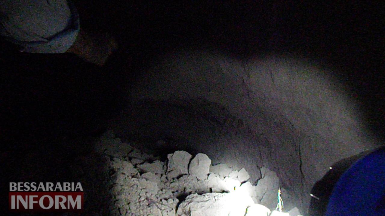 5943aa83a874d_SAM_0327 Болградский р-н: в результате очередного обвала в селе Кубей были обнаружены новые подземные ходы