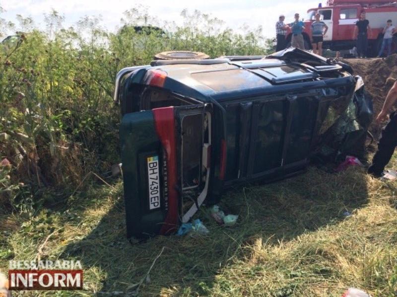 Фатальное ДТП на трассе М-15 в Измаильском районе: трое погибших взрослых и двое пострадавших детей