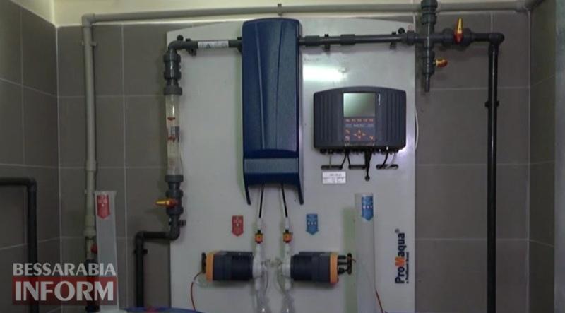 5955435e12849_34634 Беда прошлого года вынудила «дуть на воду»: мэр Измаила показал работу гидролизной станции, обеззараживающей воду
