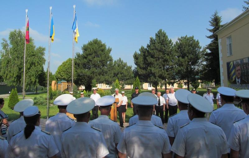 Измаильский учебно-тренировочный отряд Морской охраны отметил 15 лет со дня основания