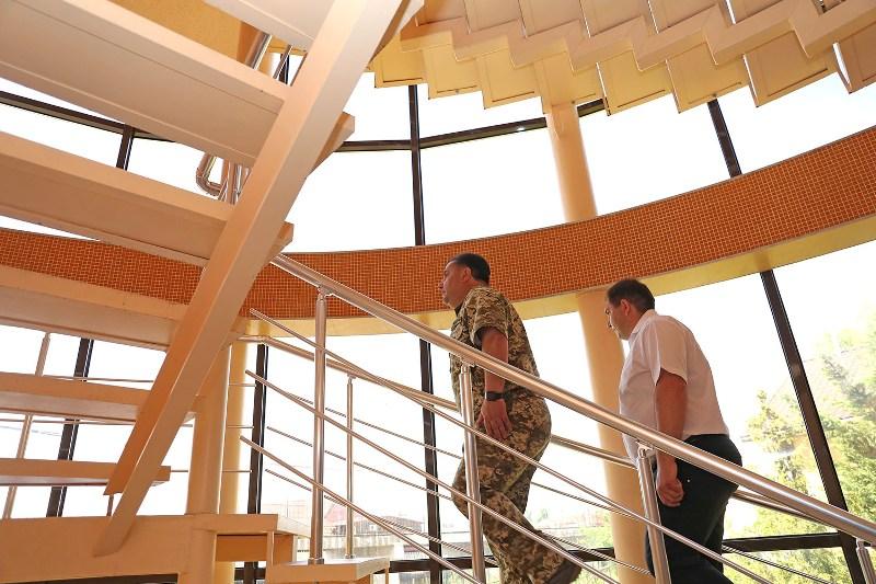 В Затоке готовят к открытию шикарную базу отдыха для участников АТО