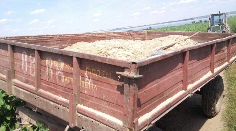 В Ренийском районе пресекли незаконную добычу песка