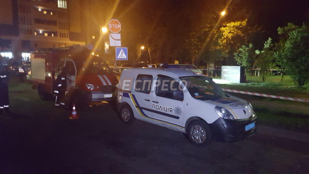 В Киеве на территории посольства США произошел взрыв, который квалифицировали как терракт