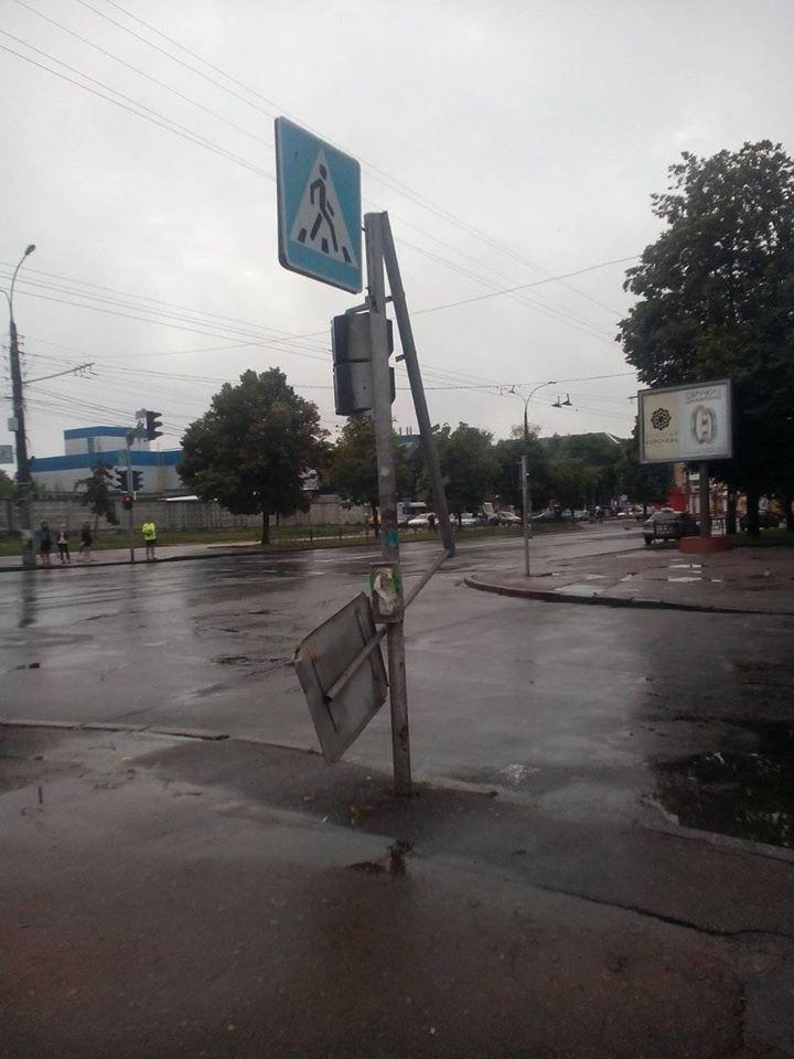 В Черниговской области ураган поднял над землей детей