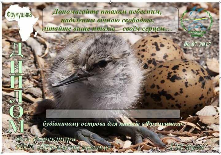 19748807_732811290238299_8754016506772529476_n На лимане Бурнас для мигрирующих из Африки птиц построили «красивенький» остров-общежитие